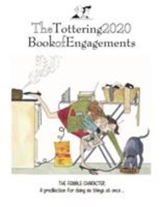 Tottering By Gently, Book of Engagements A5 Diary 2020 als Sonstiger Artikel