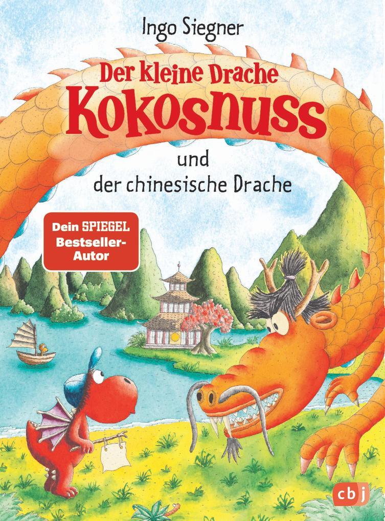 Der kleine Drache Kokosnuss und der chinesische Drache als Buch (gebunden)