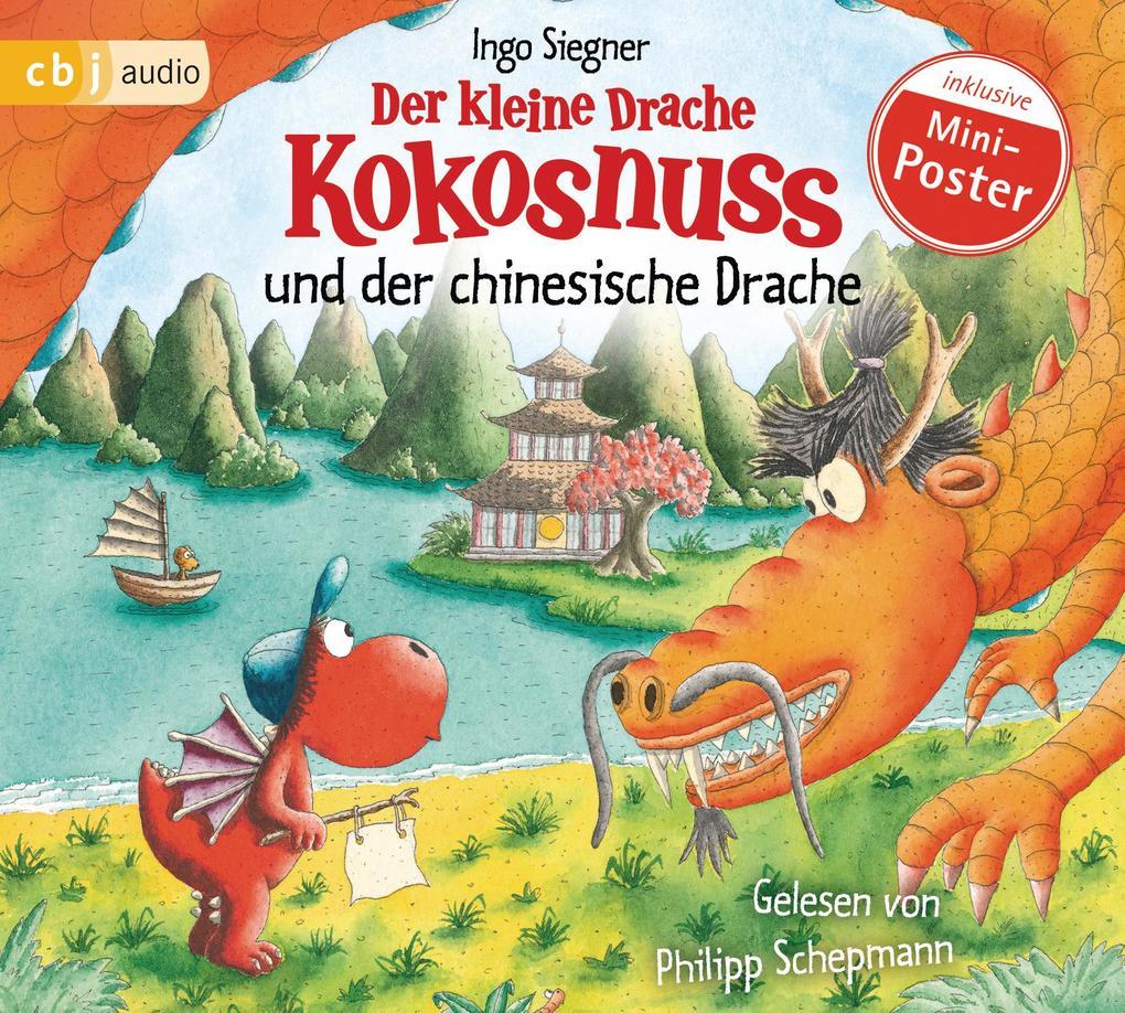Der kleine Drache Kokosnuss und der chinesische Drache als Hörbuch CD