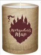 Harry Potter: Marauder's Map Glass Candle