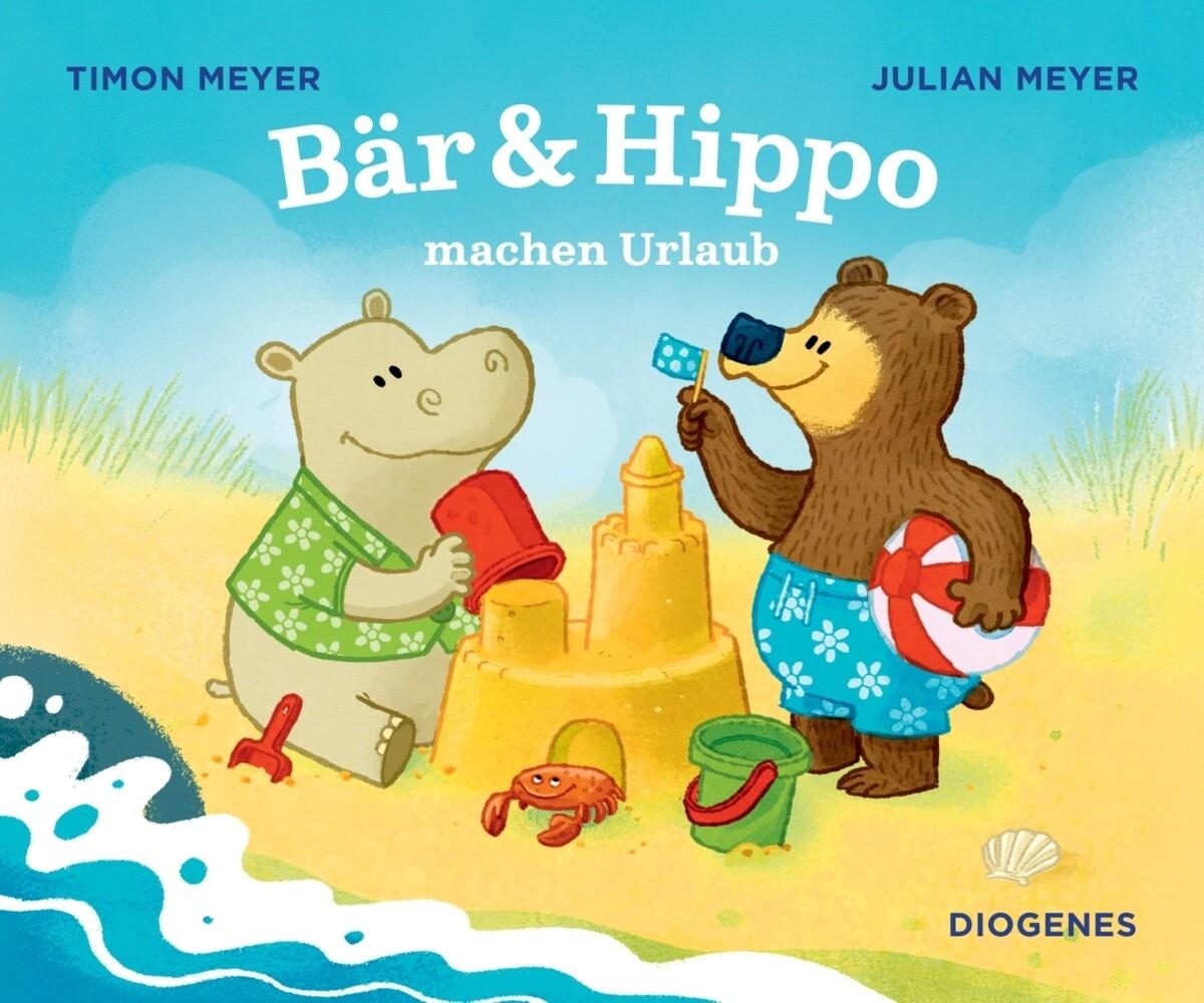 Bär & Hippo machen Urlaub als Buch (kartoniert)