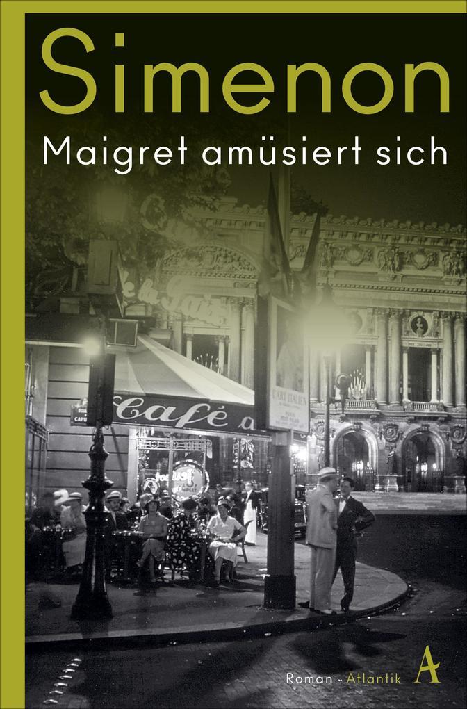 Maigret amüsiert sich als Taschenbuch