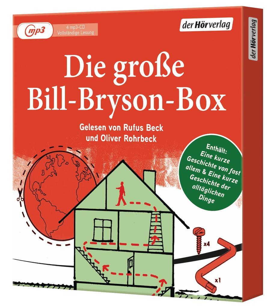 Die große Bill-Bryson-Box als Hörbuch CD