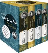Friedrich Nietzsche, Werke in vier Bänden - Menschliches, Allzu Menschliches - Also sprach Zarathustra - Jenseits von Gut und Böse - Götzendämmerung (4 Bände im Schuber)