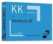 Karteikarten Strafrecht Allgemeiner Teil