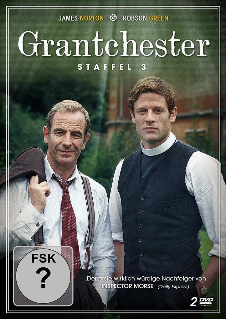 Grantchester Staffel 3 als DVD