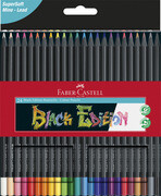 [Faber-Castell Buntstifte Black Edition 24er Kartonetui]