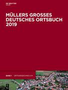 Müllers Großes Deutsches Ortsbuch 2019