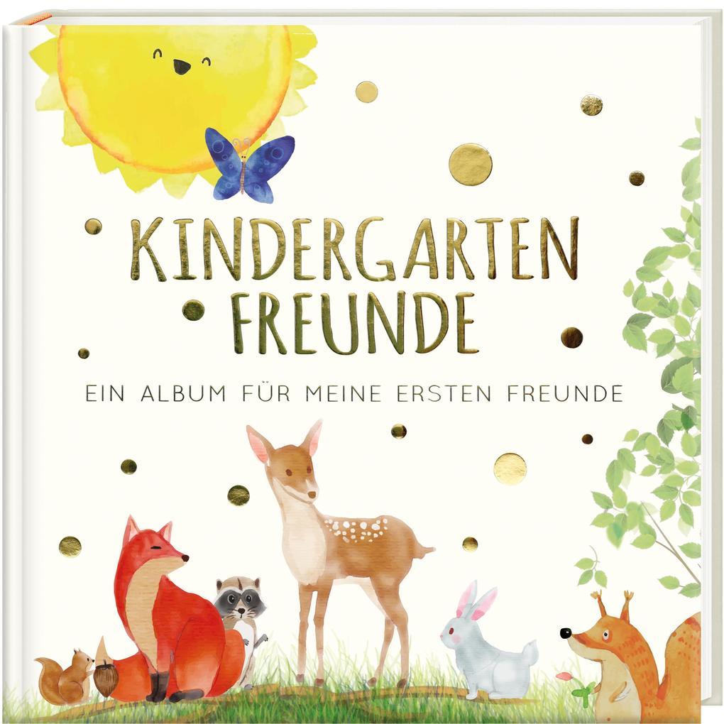 Kindergartenfreunde als Buch (gebunden)