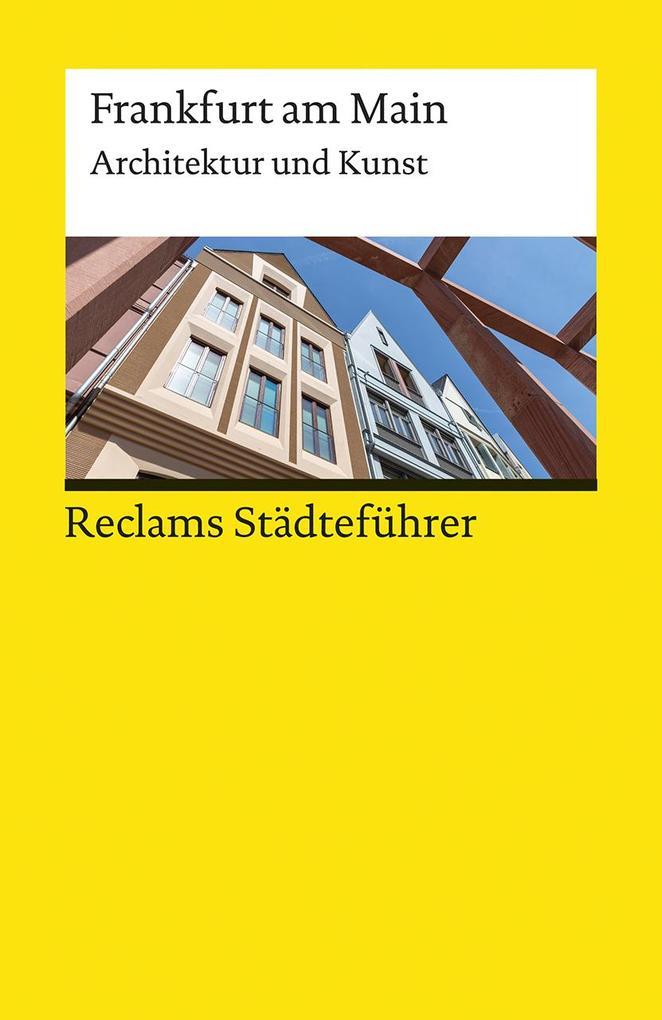 Reclams Städteführer Frankfurt am Main als Taschenbuch