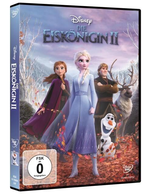 Die Eiskönigin 2 als DVD