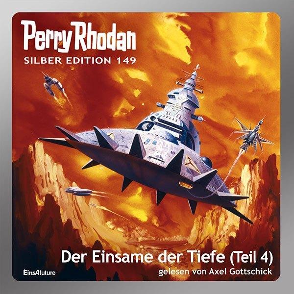 Perry Rhodan Silber Edition (MP3 CDs) 149: Der Einsame der Tiefe als Hörbuch CD