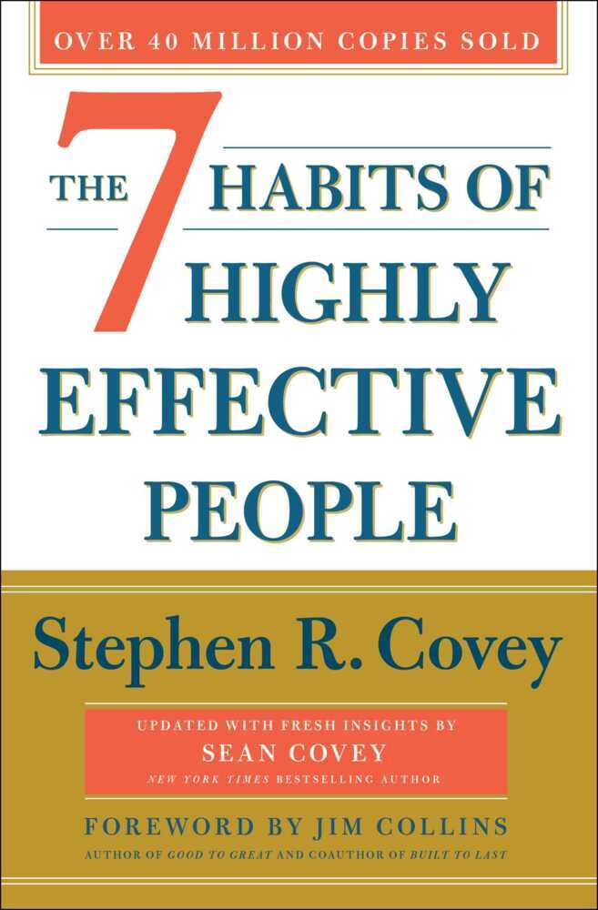 The 7 Habits of Highly Effective People. 30th Anniversary Edition als Buch (kartoniert)