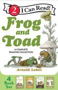Frog and Toad: A Complete Reading Collection: Frog and Toad Are Friends, Frog and Toad Together, Days with Frog and Toad, Frog and Toad All Year