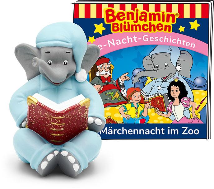Tonie - Benjamin Blümchen: Die Märchennacht im Zoo als Spielware