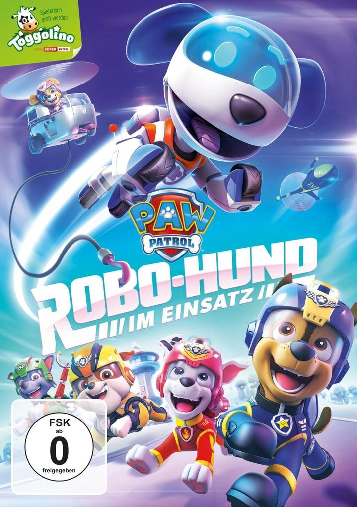 Paw Patrol: Robo-Hund im Einsatz als DVD