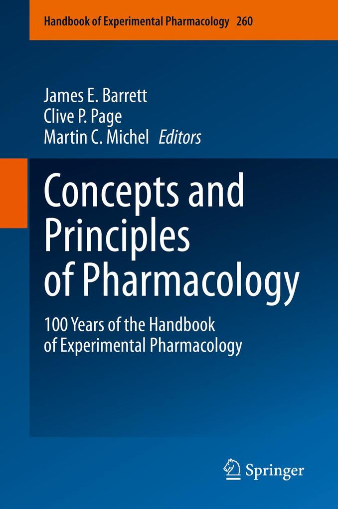 Concepts and Principles of Pharmacology als eBook pdf