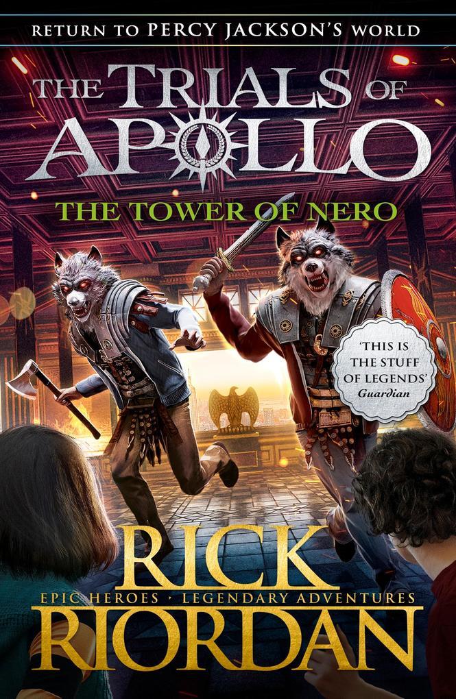 The Tower of Nero (The Trials of Apollo Book 5) als eBook epub
