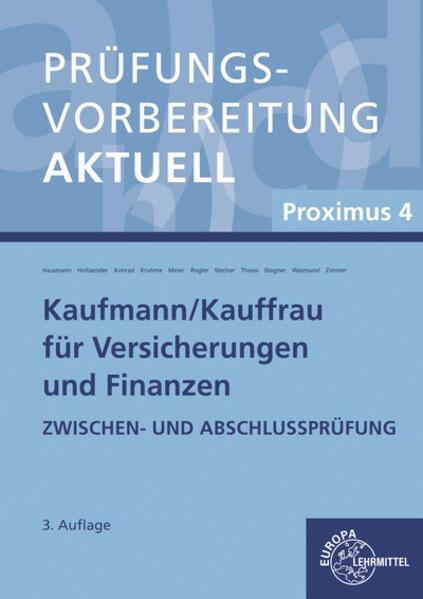 Prüfungsvorbereitung aktuell - Kaufmann/-frau für Versicherungen und Finanzen als Buch (kartoniert)