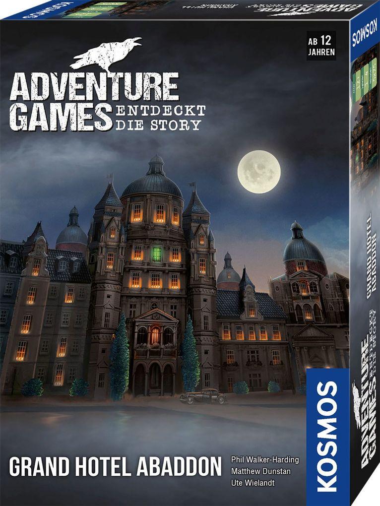 KOSMOS - Adventure Games - Grand Hotel Abaddon als Spielware