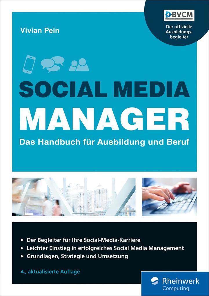 Social Media Manager als eBook epub