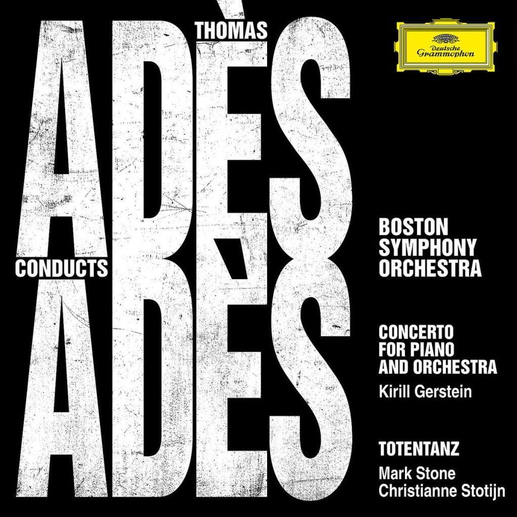 Ades Conducts Ades als CD