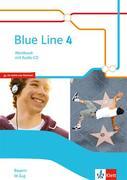 Blue Line 4 M-Zug. Workbook mit Audio-CD Klasse 8. Ausgabe Bayern