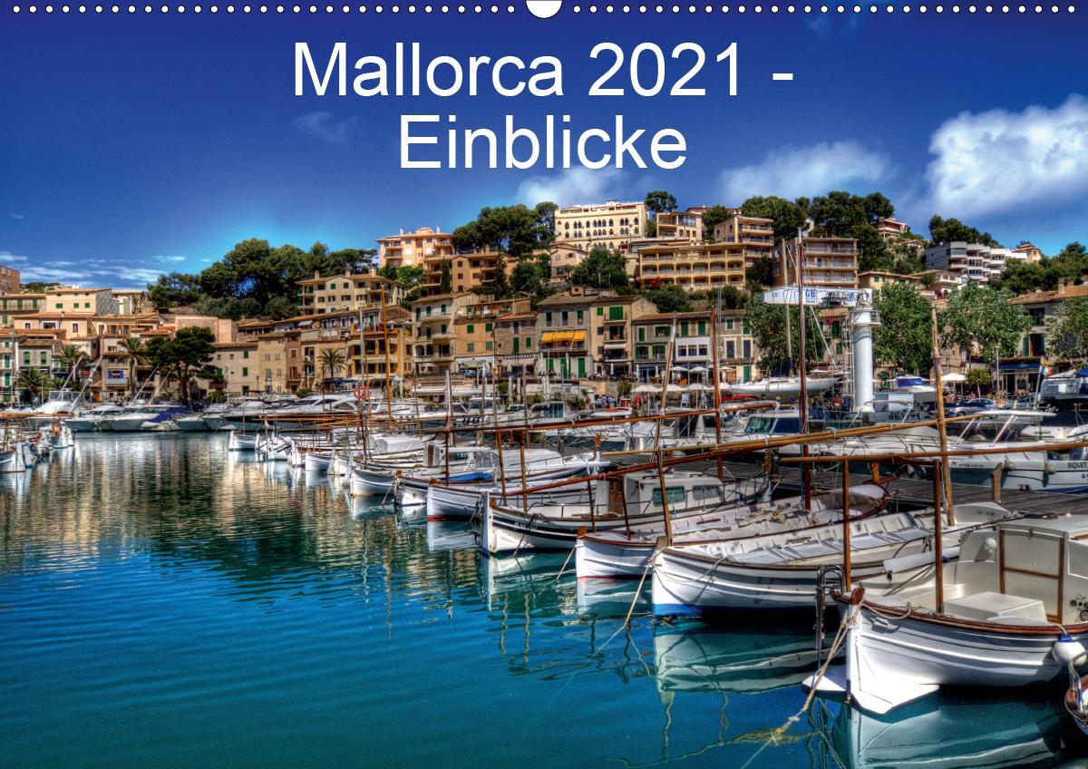 Mallorca 2021 - Einblicke (Wandkalender 2021 DIN A2 quer) als Kalender