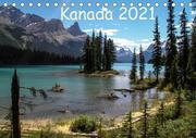 Kanada 2021 (Tischkalender 2021 DIN A5 quer)