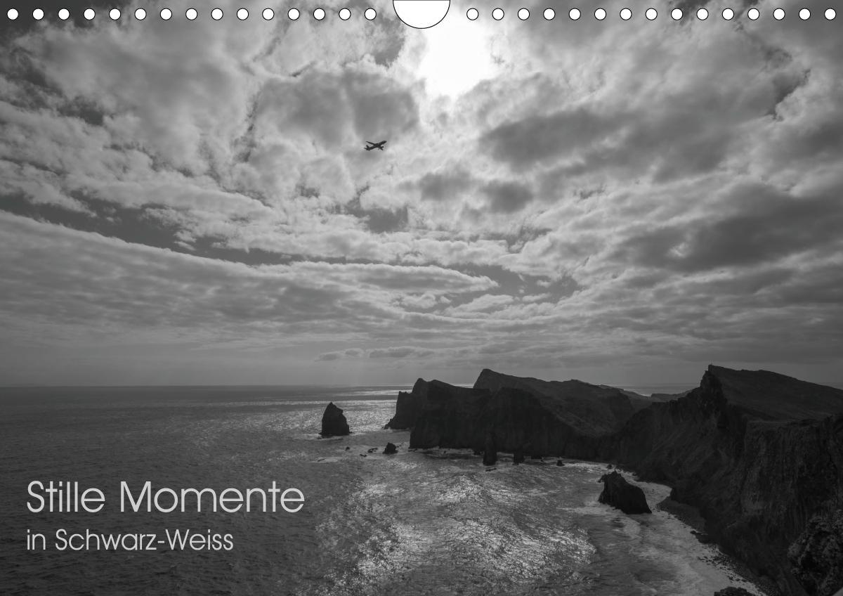 Stille Momente in Schwarz-WeissCH-Version (Wandkalender 2021 DIN A4 quer) als Kalender