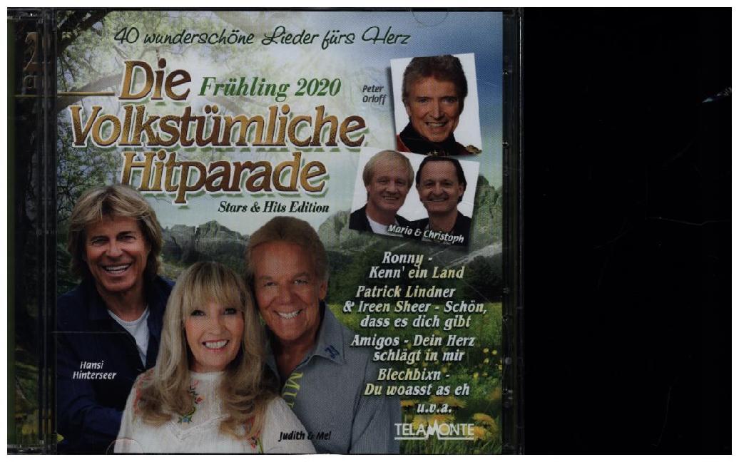 Die Volkstümliche Hitparade Frühling 2020 als CD