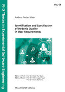 Identification and Specification of Hedonic Quality in User Requirements.
