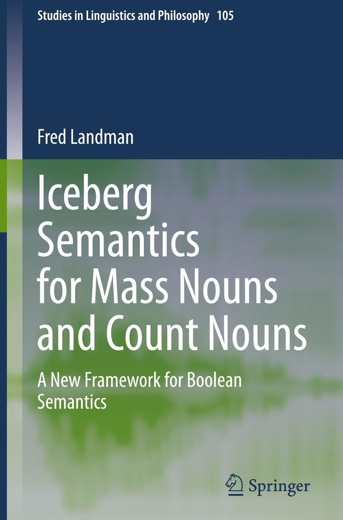 Iceberg Semantics for Mass Nouns and Count Nouns als Buch (gebunden)