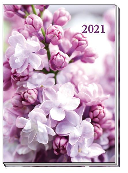 Taschenkalender 2021 Flowers A6 als Kalender