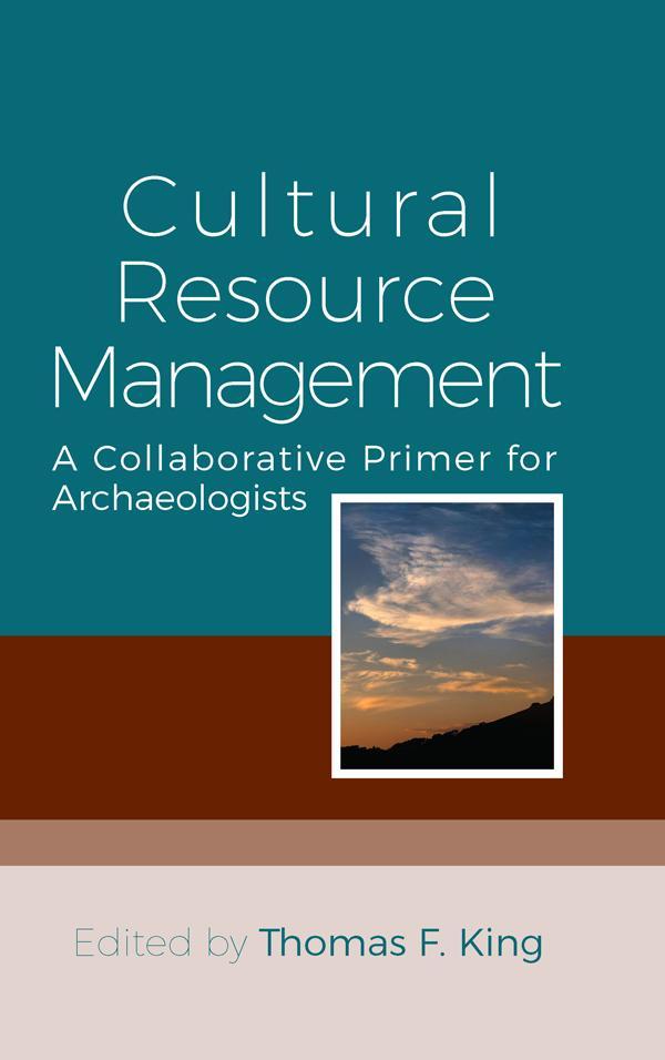 Cultural Resource Management als eBook epub