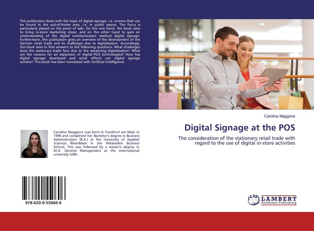 Digital Signage at the POS als Buch (kartoniert)