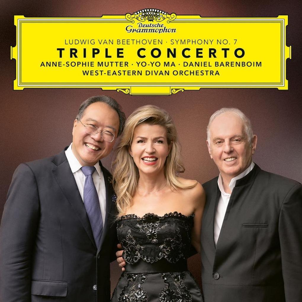 Beethoven: Triple Concerto & Symphony No. 7 als CD