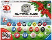 Bundesliga Adventskalender 2020/2021. 3D Puzzle 27 Teile