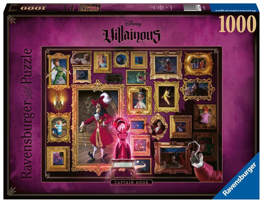 Ravensburger Spiel - Villainous - Captain Hook, 1000 Teile als Spielware