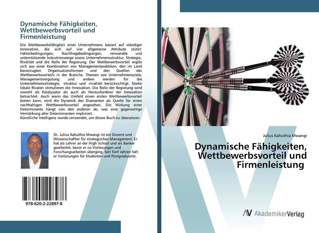 Dynamische Fähigkeiten, Wettbewerbsvorteil und Firmenleistung als Buch (kartoniert)