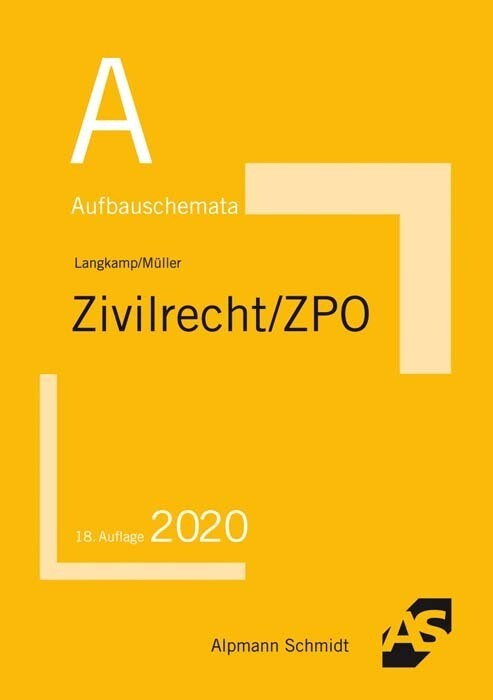 Aufbauschemata Zivilrecht / ZPO als Buch (kartoniert)