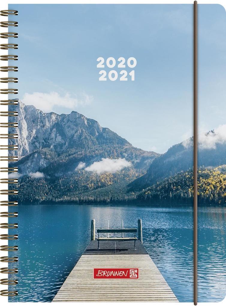 BRUNNEN 1072150181 Wochenkalender/Schülerkalender 2020/2021 Steg als Kalender