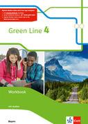 Green Line 4. Ausgabe Bayern. Workbook mit Audio-CD 8. Klasse