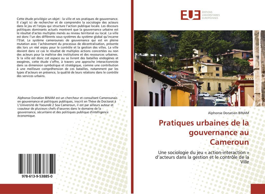 Pratiques urbaines de la gouvernance au Cameroun als Buch (kartoniert)