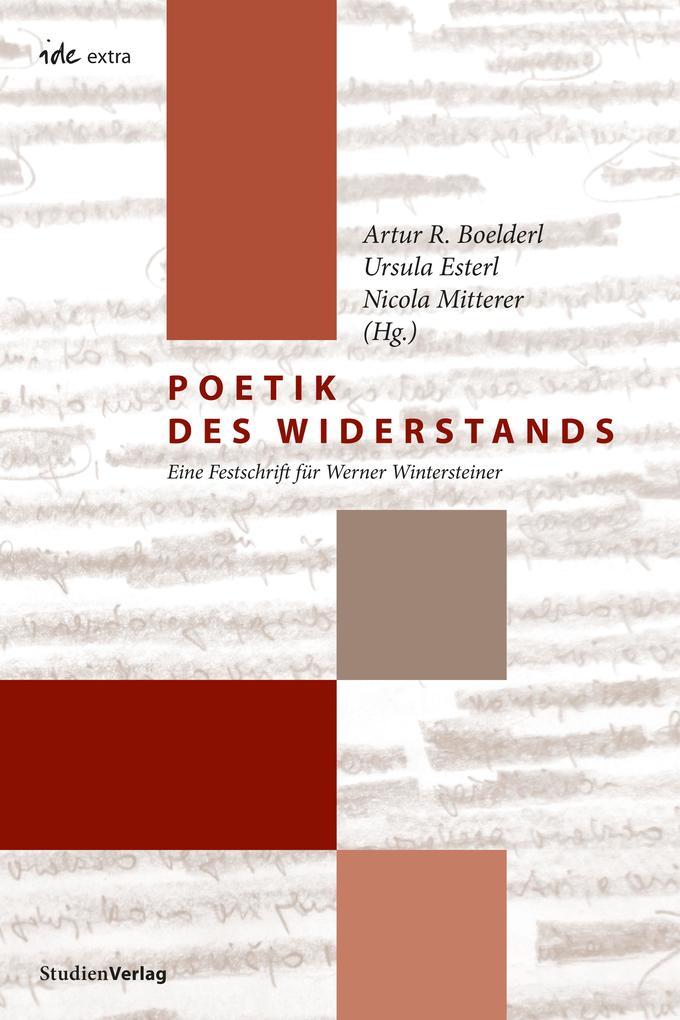 Poetik des Widerstands als eBook epub