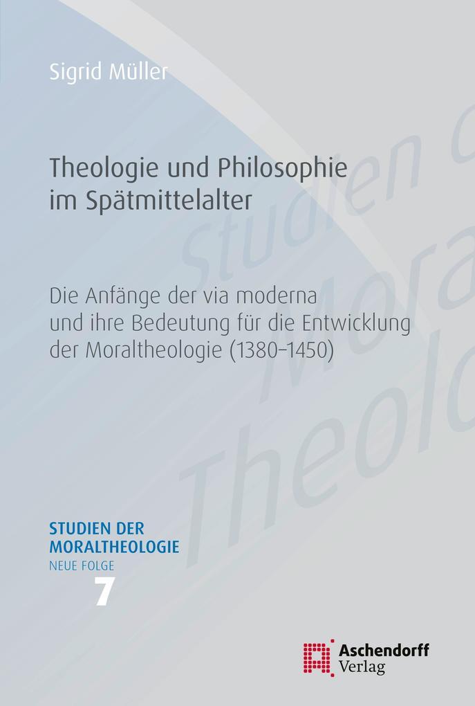 Theologie und Philosophie im Spätmittelalter als eBook pdf