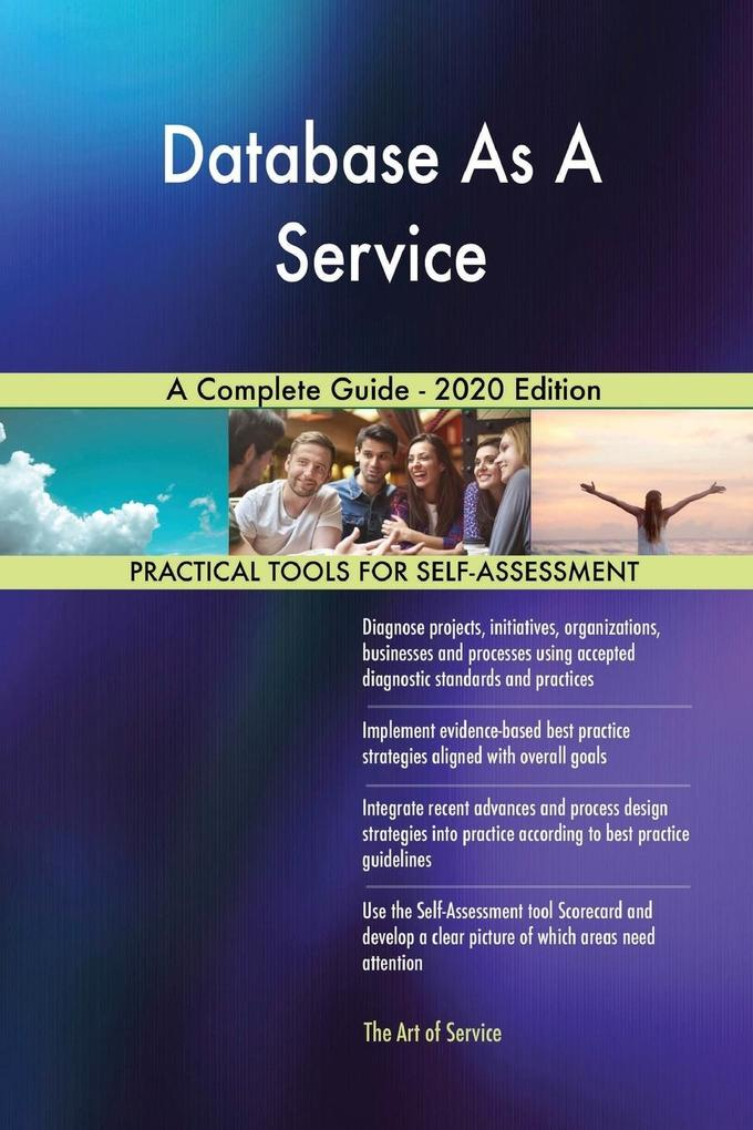 Database As A Service A Complete Guide - 2020 Edition als Taschenbuch