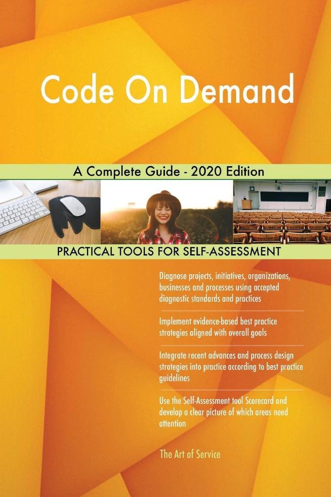 Code On Demand A Complete Guide - 2020 Edition als Taschenbuch