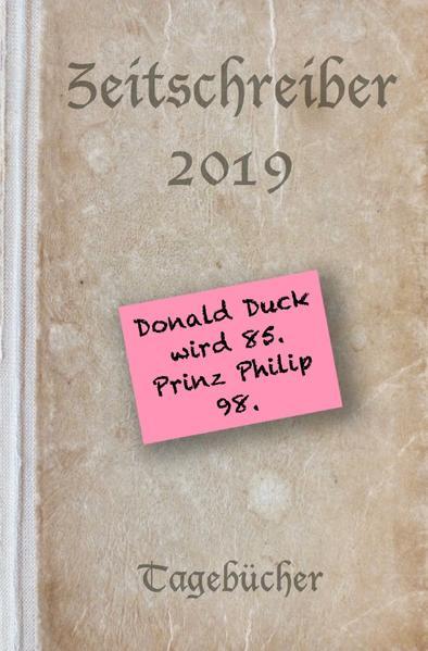 Zeitschreiber 2019 als Buch (kartoniert)