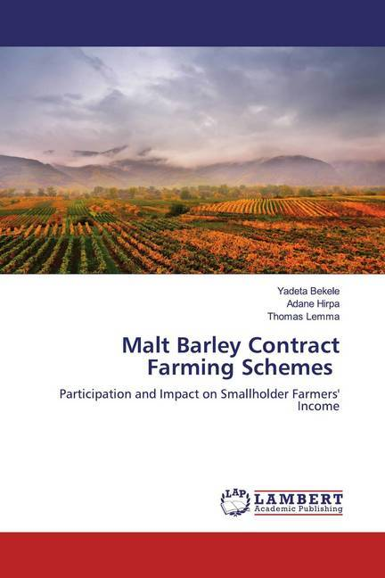 Malt Barley Contract Farming Schemes als Buch (kartoniert)
